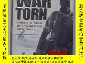 二手書博民逛書店英文原版罕見War Torn by ANDY MCNAB 著Y1