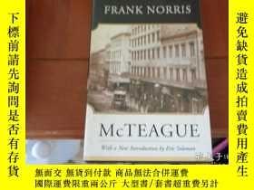 二手書博民逛書店mcteague罕見frank norrisY25524