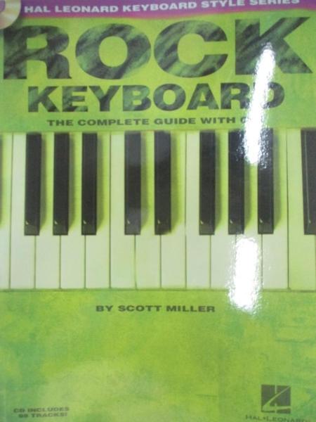 【書寶二手書T2/原文小說_DW6】Rock Keyboard: Complete Guide_Miller, Scott/ Downing, Doug (EDT)
