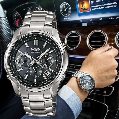 CASIO LIW-M610TDS-1A 太陽能電波鈦金屬腕錶 LIW-M610TDS-1AJF