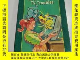 二手書博民逛書店Ellen s罕見Terrible TV Troubles:埃倫