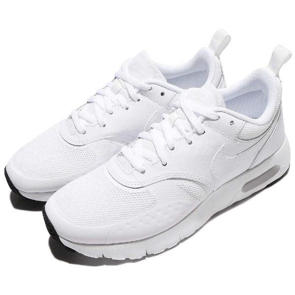 Nike 休閒慢跑鞋 Air Max Vision GS 白 全白 休閒鞋 小白鞋 運動鞋 童鞋 女鞋 大童鞋【PUMP306】 917857-100