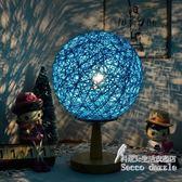 個性調光小夜燈美式學生麻球創意浪漫喂奶臺燈     Sq6422『科炫3C』
