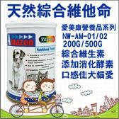 *KING WANG*愛美康Amazon 天然犬/貓綜合維他命200g