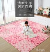 拼接地毯  泡沫地墊臥室兒童爬行墊拼圖墊子地墊家用地毯拼接地板墊 【全館免運】