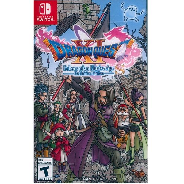 任天堂 Switch NS 勇者鬥惡龍 XI S Definitive Edition 尋覓逝去的時光 英文/中文版