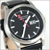 【萬年鐘錶】MONDAINE 瑞士國鐵皮錶 XM-669814
