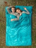 睡袋 駱駝戶外雙人睡袋大人露營防寒保暖便攜式室內旅行冬季加厚睡袋 夢藝