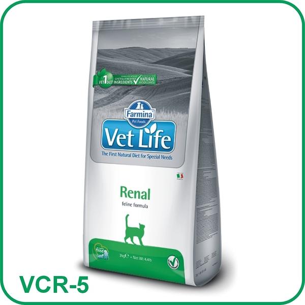 寵物家族-Farmina法米納|貓用腎臟配方(VCR-5)2kg