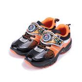 機器戰士 造型電燈運動鞋 橘 TOKX76348 中大童