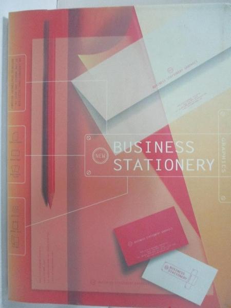【書寶二手書T2/設計_EZ9】BUSINESS STATIONERY GRAPHICS_日文書_Not Available
