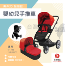 兩色可選 台灣製 慢跑車款 0-3歲可替換兩件式輕量快收嬰幼兒手推車 統姿