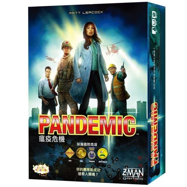 『高雄龐奇桌遊』瘟疫危機 Pandemic 繁體中文版 2015新版 正版桌上遊戲專賣店