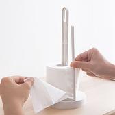 廚房立式捲紙用紙巾架 灰色 紙巾架 置物架