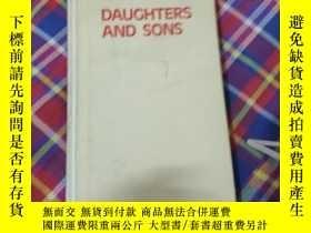 二手書博民逛書店DAUGHTERS罕見AND SONSY274547 看圖 看圖