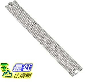 [美國直購] Oroclone Crystal Set Plated Crystal Eleven Row Bracelet, 6.5 手鏈 耳環