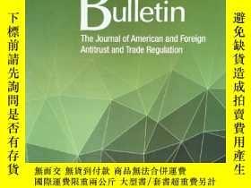 二手書博民逛書店the罕見antitrust bulletin 2019年6月 英文版Y42402