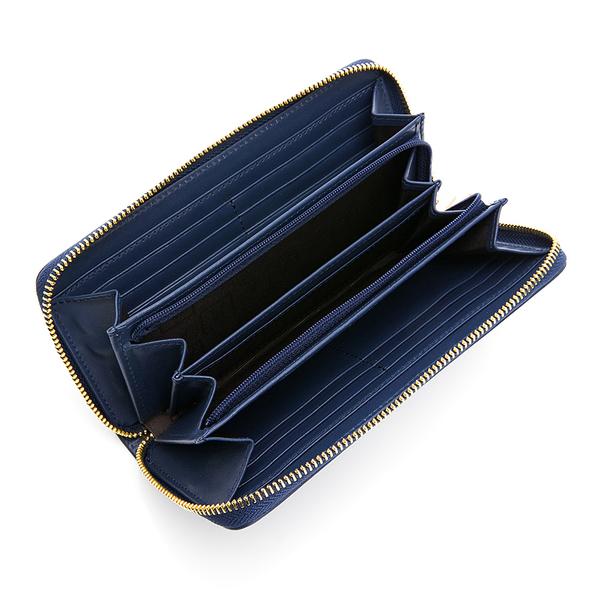 PLAYBOY- ㄇ拉長夾 Elegant系列 -藍色