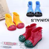 兒童雨鞋幼兒雨靴男女童防滑水靴小童
