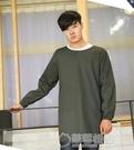 韓版時尚圍裙廚房防水防油長袖做飯罩衣成人純棉工作服男 草莓妞妞