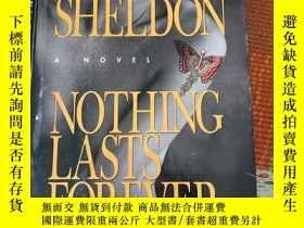 二手書博民逛書店nothing罕見lasts foreverY456440 Sidney Sheldon William m