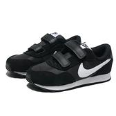 NIKE 童鞋 MD VALIANT TDV 黑白 黏帶 休閒鞋 小童 (布魯克林) CN8560-002