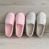 月子拖鞋防滑產婦室內春秋產後軟底包跟月子鞋     艾維朵