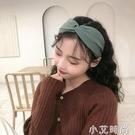 發箍女復古洗臉碎發寬邊頭箍法式交叉韓國發帶網紅2021新款發卡 小艾新品
