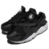 【六折特賣】Nike 武士鞋 Wmns Air Huarache Run 黑 白 運動鞋 黑白 襪套式 女鞋【PUMP306】 634835-006