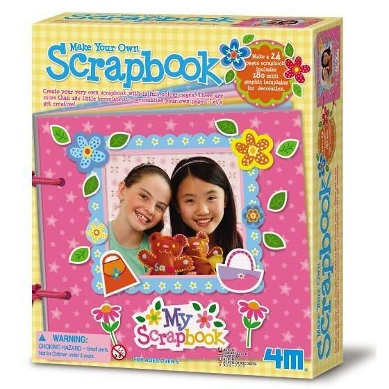 《4M美勞創作》Make Your Own Scrapbook 我的創意剪貼本 ╭★ JOYBUS玩具百貨
