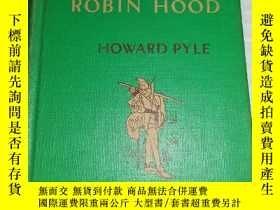 二手書博民逛書店英文原版書-----《Some罕見Merry Adventures of Robin Hood:羅賓漢的快樂冒險》