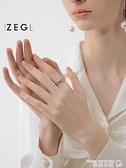 戒指 ZENGLIU交叉纏繞戒指女ins潮小眾設計簡約冷淡風個性網紅食指戒子 曼慕