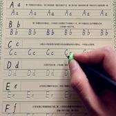 字帖寫字母練習本兒童速成意大利斜體英文【步行者戶外生活館】