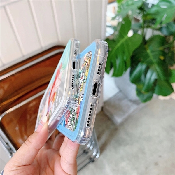美人魚和愛麗絲 適用 iPhone12Pro 11 Max Mini Xr X Xs 7 8 plus 蘋果手機殼