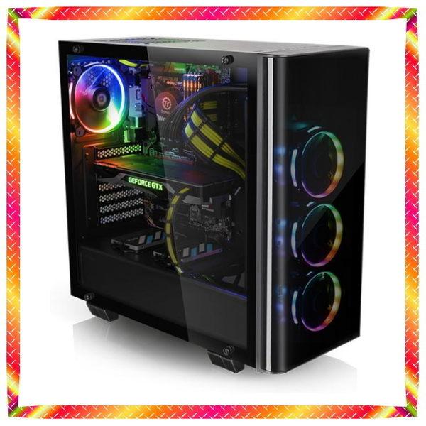 就是要特別!九代i7-9700KF水冷 16GB RAM GTX1660 RBG 256色酷炫機殼