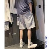 夏季男士衛褲休閒外穿短褲寬鬆潮流五分褲運動沙灘褲【小酒窩】