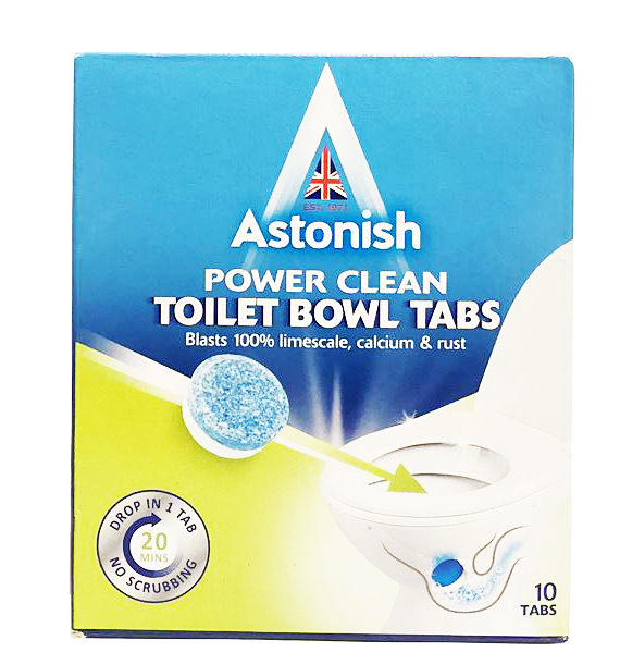 英國 Astonish 馬桶清潔錠(大包裝: 每份10錠) Toilet bowl cleaner