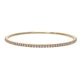 Tiffany & Co 蒂芬妮 Metro 18K玫瑰金鑽石手鐲 Bracelet 750PG 【BRAND OFF】