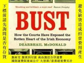 二手書博民逛書店英文版罕見Bust:how the courts have ex