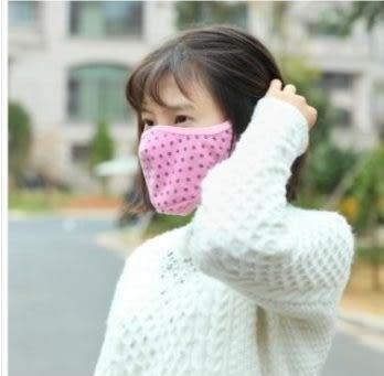 現貨 - 冬季保暖二合一口罩 全棉防霧霾口罩 防冷防凍護耳口罩