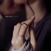 蜂巢蜂窩菱形幾何仿鑽真金保色戒指