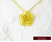 9999純金 黃金 設計經典 花語系列 墜飾 墜子 送精緻皮繩項鍊 母親節推薦