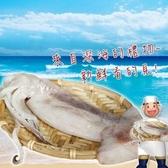 【南紡購物中心】【賣魚的家】嚴選深海大魷魚(400g±3%/2尾/包)-1包組