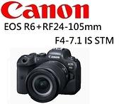 名揚數位 (無分期優惠) CANON EOS R6 + RF 24-105mm F4-7.1 STM KIT 佳能公司貨~登錄贈原電11/30止