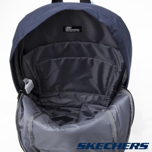 [陽光樂活] SKECHERS BEE 運動 潮流 時尚 實用 後背包 - S15839 藍