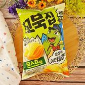 韓國烏龜玉米濃湯餅 160g【8801117784508】(韓國零食)