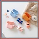 蘋果 Airpods 1代 2代 3代 保護套 呼拉圈熊  Airpods pro 保護套 藍牙耳機盒 全包無線耳機殼