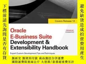 二手書博民逛書店Oracle罕見E-business Suite Development & Extensibility Hand