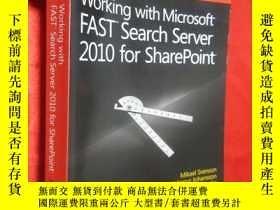 二手書博民逛書店Working罕見with Microsoft Fast Sea