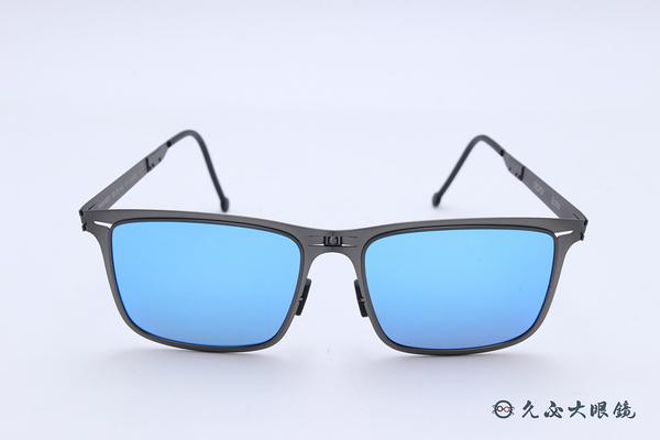 ROAV 偏光太陽眼鏡 Maverick - Mod.8207 ( 銀框/藍水銀 ) 薄鋼折疊墨鏡